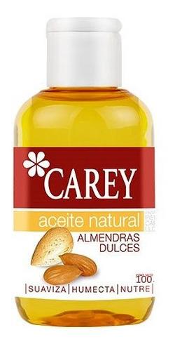 Aceite Natural Carey 100 Ml. Almendras Dulces
