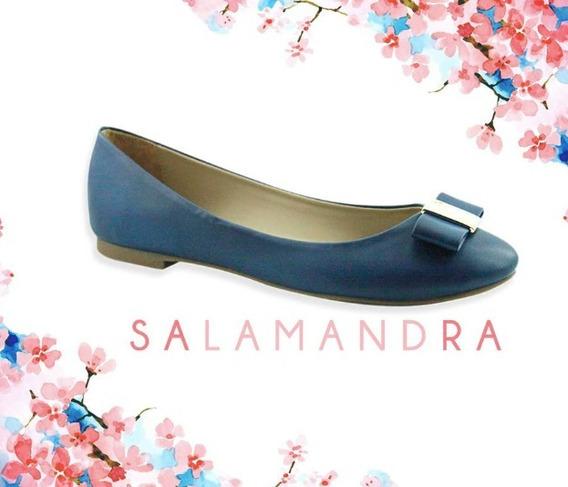 Balerina Salamandra 209-1053 Mujer Azul