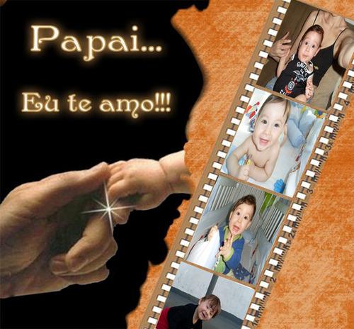 Imagem 1 de 2 de Arte Convite/cartão - Dia Dos Pais - Envio Por Email