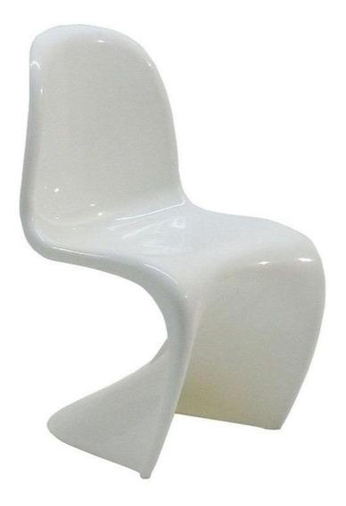 Cadeira Byartdesign Panton Junior Abs Branco