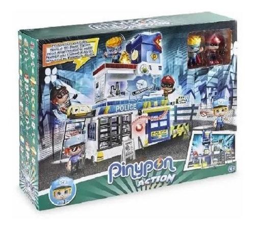 Pinypon Action Policias Trampas En La Comisaria 14493 Edu