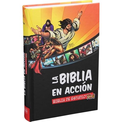 La Biblia En Acción Tla De Estudio Mediana Tapa Dura