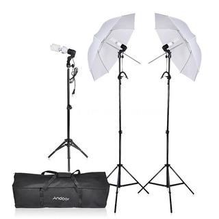 Luces Para Fotografía/kit Básico De Iluminación