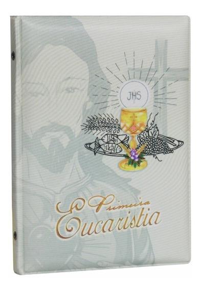 Álbum Capa Primeira Eucaristia 40 Fotos 15x21