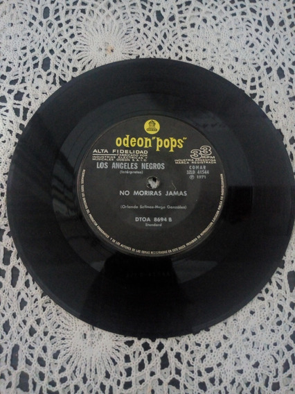 Los Ángeles Negros Simple Disc (disco De Vinilo)
