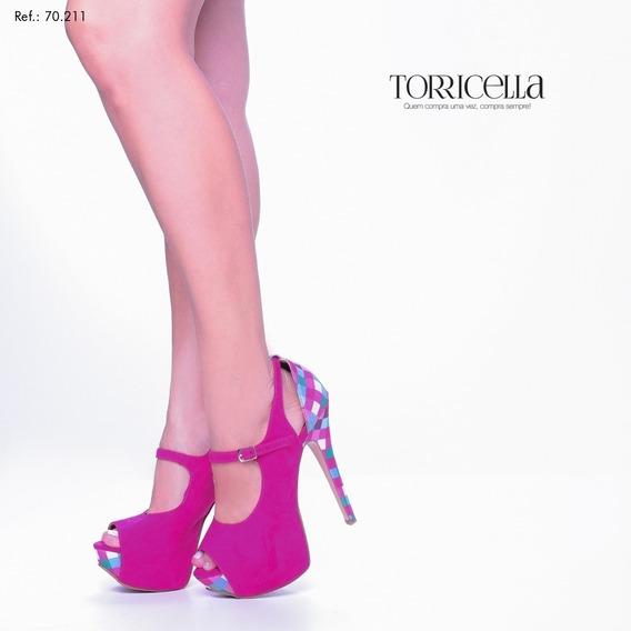 Sapato Peep Toe (ref: 70.211)