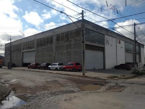 Galpão Para Alugar, 2100 M² Por R$ 23.000,00/mês - Jundiapeba - Mogi Das Cruzes/sp - Ga0004