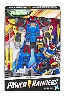 Muñeco Power Rangers Beast Morphers Megazord Hasbro