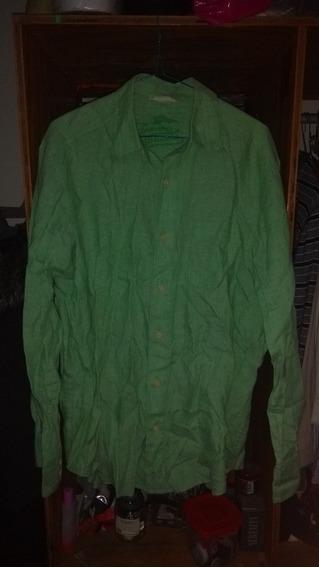 Camisa De Lino Tommy Bahama Talla S Classic Polo