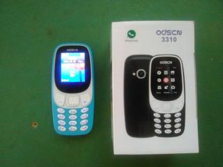 Nokia 3310 Azul Dual Sim Para Todas Las Operadoras