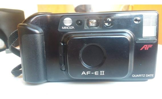 Câmera Fotográfica Analógica Minolta Af-eii