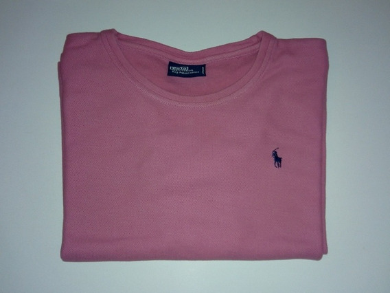 Remera Mujer Polo Ralph Lauren 100% Algodon Importada Rosa