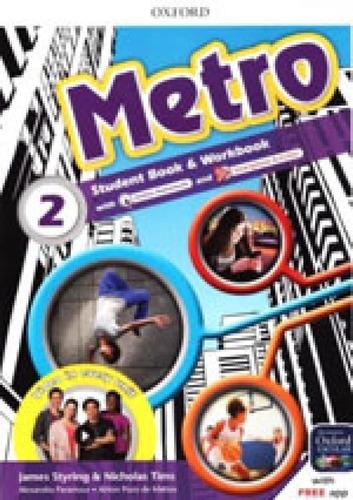 Imagem 1 de 1 de Metro 2 - Student's Book With Workbook