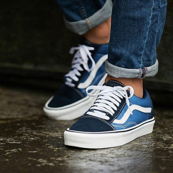 Zapatos Vans Old Skool Y Authentic