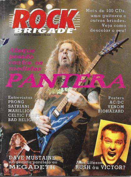 Revista Rock Brigade 119-pantera,rush,wizards