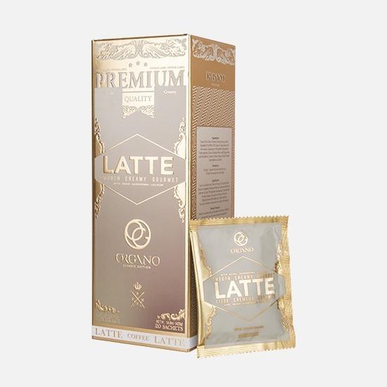 Café Latte Gourmet Organo Gold Con Ganoderma Lucidum