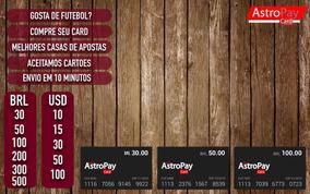 Astropay Card 50brl Peca Antes De Pagar