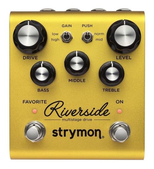 Strymon Riverside Overdrive - Novo, Garantia, Nota Fiscal