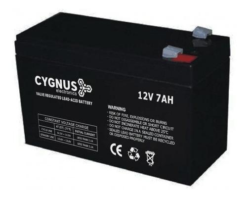 Imagen 1 de 6 de Bateria 12v 7ah P/ Ups Y Alarma Domic Adt X28 Garnet Marshal