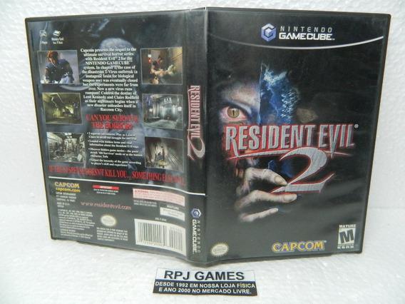 Resident Evil 2 Original Completa P/ Game Cube - Loja Rj