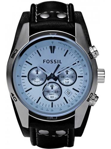 Relógio Fossil Coachman Cronógrafo Ch2564/0kn