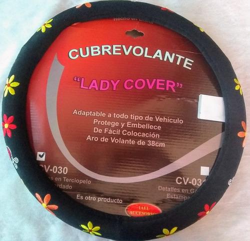 Imagen 1 de 2 de Cubrevolante  Bordado 38 Cms Adaptable Lady Cover