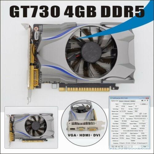 Tarjeta De Video Nvidia Gt730 4 Gb Ddr5