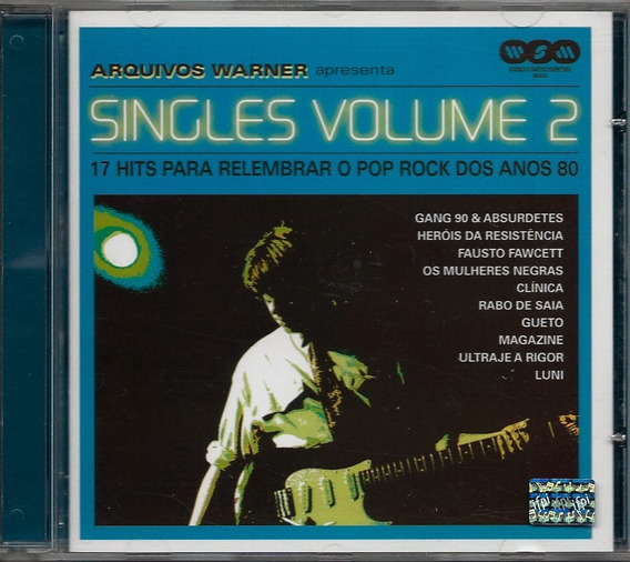 Cd-arquivos Warner-singles Volume 2-em Otimo Estado