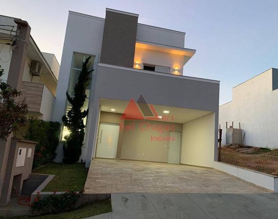 Casa Com 3 Dormitórios À Venda, 190 M² Por R$ 0 - Condomínio Villagio Milano - Sorocaba/sp - Ca0338