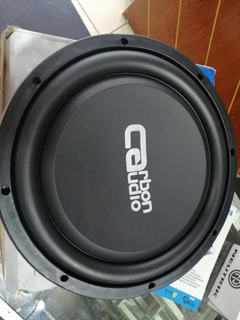 Subwoofer Bajo 12 Plano 400 Whatts Carbon Audio