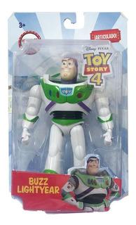 Muñeco Buzz Lighyear Articulado Toy Story 4 Disney Original