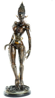 Species Sil Figura 1/6 Alien Threezero - Robot Negro