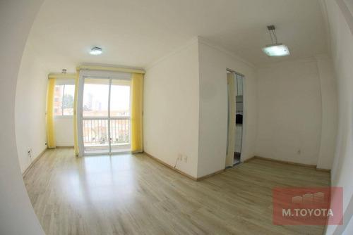 Imagem 1 de 30 de Apartamento Com 2 Dormitórios À Venda, 64 M² Por R$ 400.000,00 - Ponte Grande - Guarulhos/sp - Ap0184