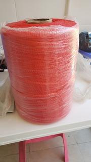 Malla Tubular Color Rojo