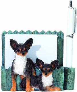 3d Magnetic Chihuahua Pet Note Holder. Makes The Perfect Gif