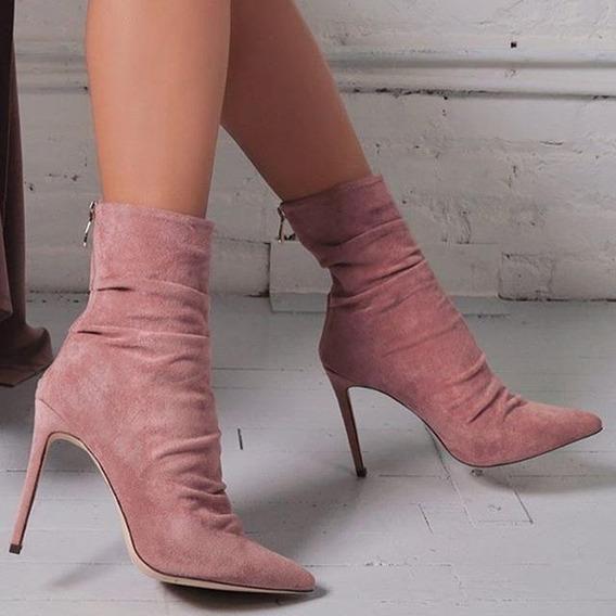 Ankle Boot Feminina Hzxinlive 01995 Importado