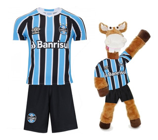 Conjunto Infantil Futebol Gremio + Cavalinho Fantastico