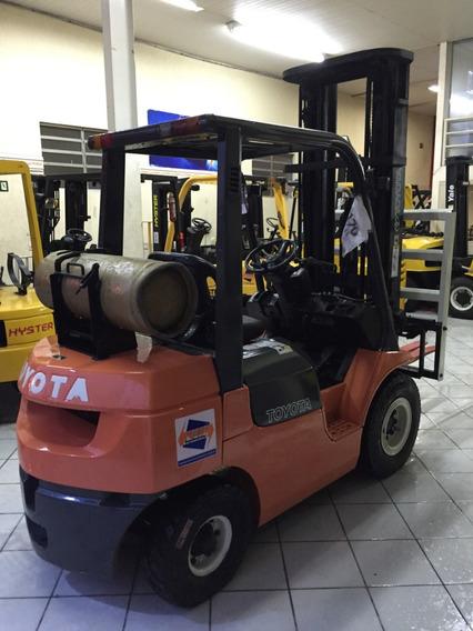 Empilhadeira Toyota 7fg25! Mais Duravel Porem Pecas Caras