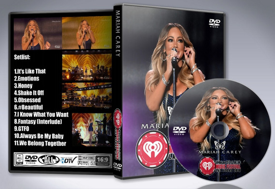 Dvd Mariah Carey - Live At Iheartradio Music Festival 2018cr