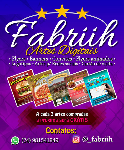Artes Digitais - Flyer, Banner
