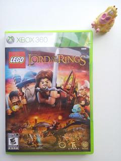 Lego El Señor De Los Anillos Xbox 360 Garantizado