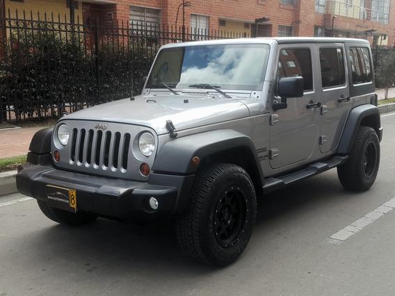 Jeep Wrangler Unlimited Tp 3600cc 4x4 5ptas Fe