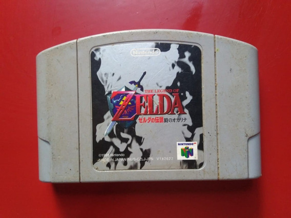 Zelda Ocarina Of Time Original Japa Nintendo 64 N-64