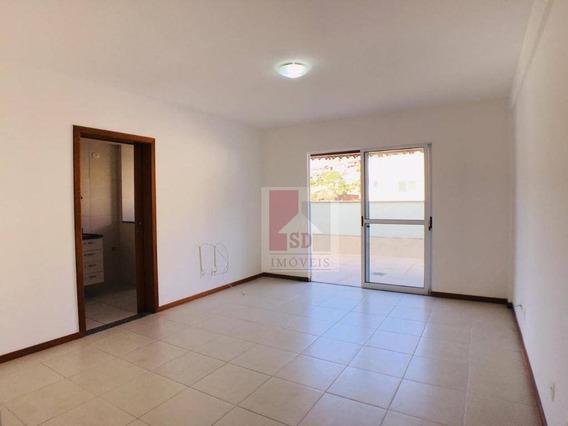 Cobertura Com 2 Dormitórios Para Alugar, 70 M² Por R$ 1.800,00/mês - Agriões - Teresópolis/rj - Co0047