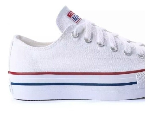 Tênis All Star Branco Plataforma