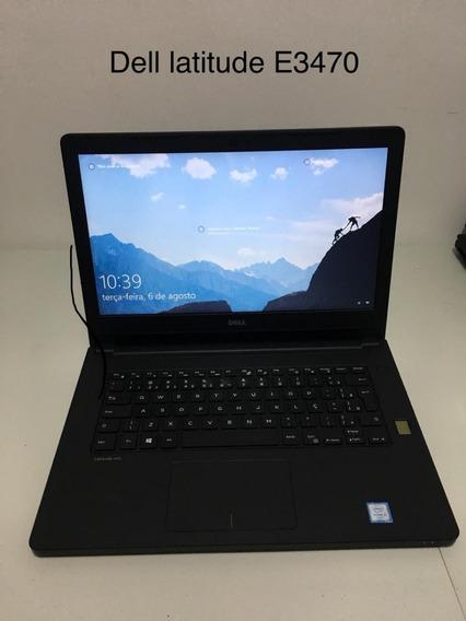 Notebook Dell Latitude E3470 - I5 - 8gb - Hd 500gb