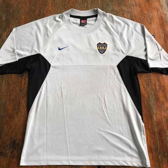 Camiseta Boca Entrenamiento 2000 Nike. Original