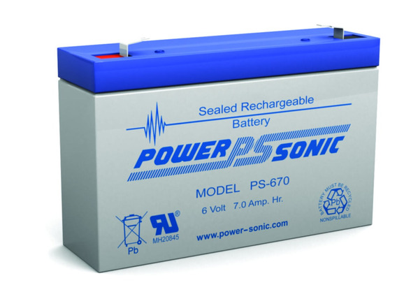 Bateria Power Sonic Ps-670 6 Voltios Battery Master