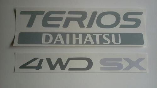 Daihatsu  Terios Calcomanía Puerta Trasera