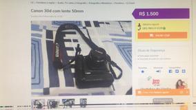 Canon 30d Com Lente 50mm